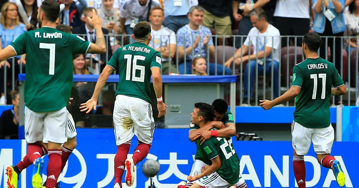 Mexico Team Report Mexico defeats Germany Mexico team