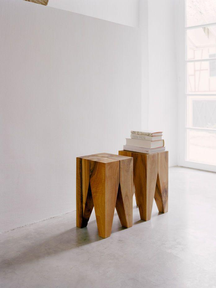 Hocker/Beistelltisch Backenzahn | Holz | Pinterest | Beistelltische ...