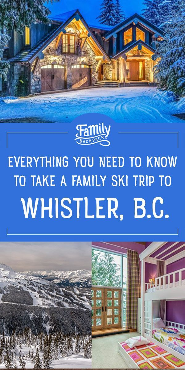 Photo of Unas vacaciones familiares a Whistler en invierno | La mochila familiar