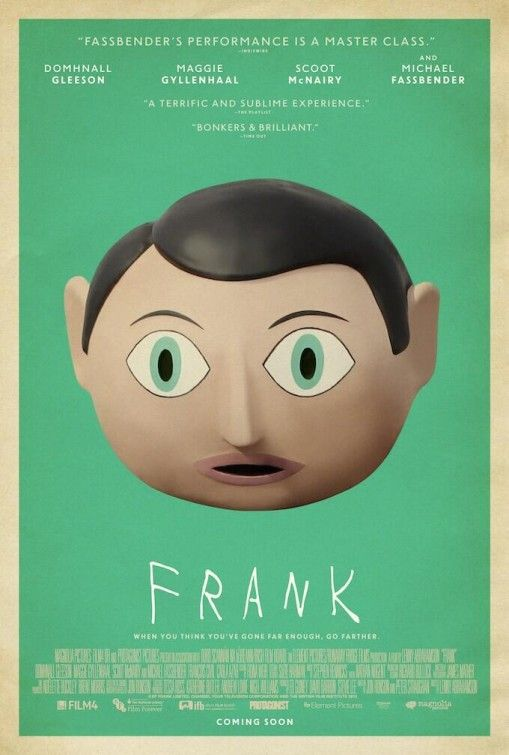 Frank - Directed by Lenny Abrahamson. A film that could have easily strayed toward twee indy comedy veered sharply into dark and complex territory in the third act, reflecting on what it means to create art for art's sake in the age of  ruthless self-promotion. The direction was inventive and delicate and I bawled going into the end credits.