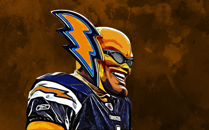 Download Wallpapers Boltman Los Angeles Chargers 4k Grunge Art Mask National Football League Nfl Mascots Usa Besthqwallpapers Com Los Angeles Chargers Sports Wallpapers Grunge Art