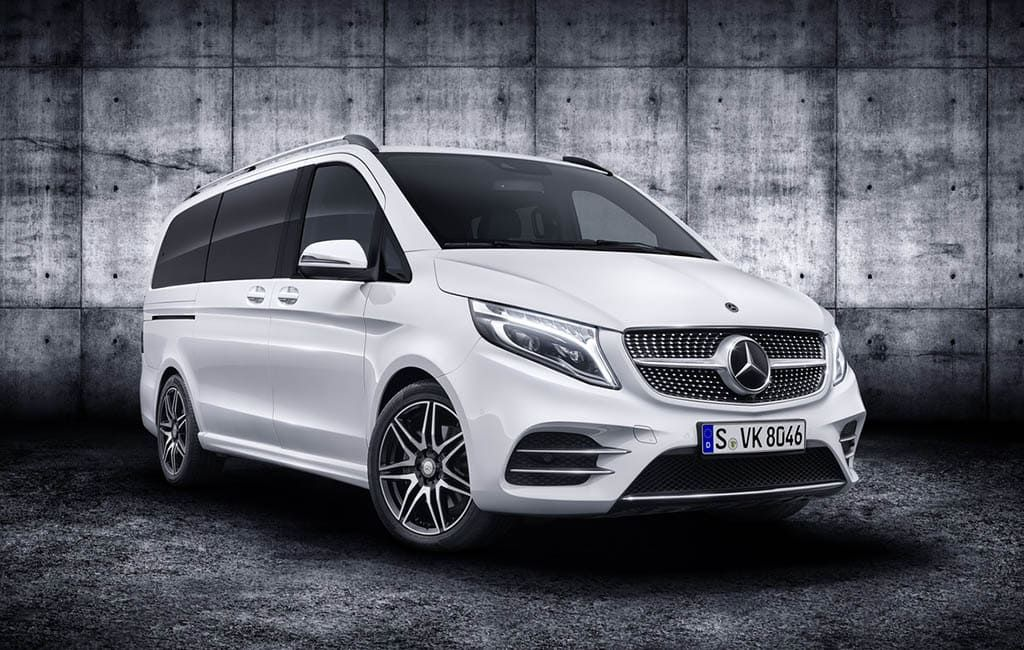 MercedesBenz VКласса 2019 обновленный люксовый минивэн