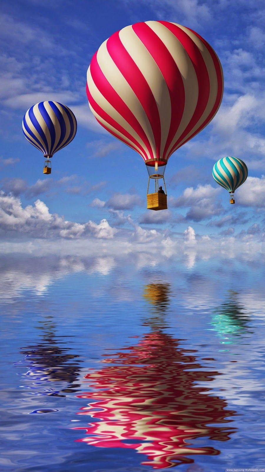 Обои воздушный шар, красиво. Города foto 6
