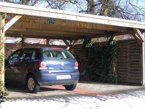 how to build a car shed