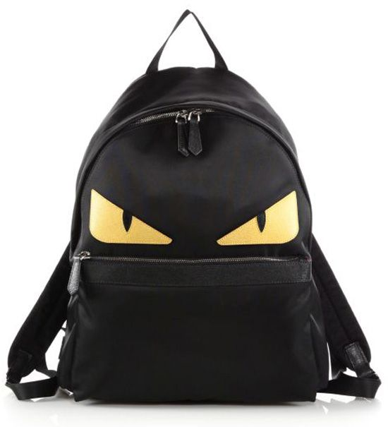 2877603b3e3af3 Fendi Nylon Monster Backpack Black $239.00 | bag in 2019 | Monster ...