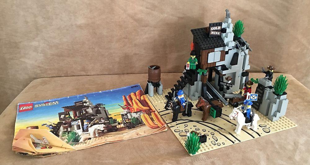 6761 Lego Complete Bandits Hidden Hideout Western Cowboy Bandits