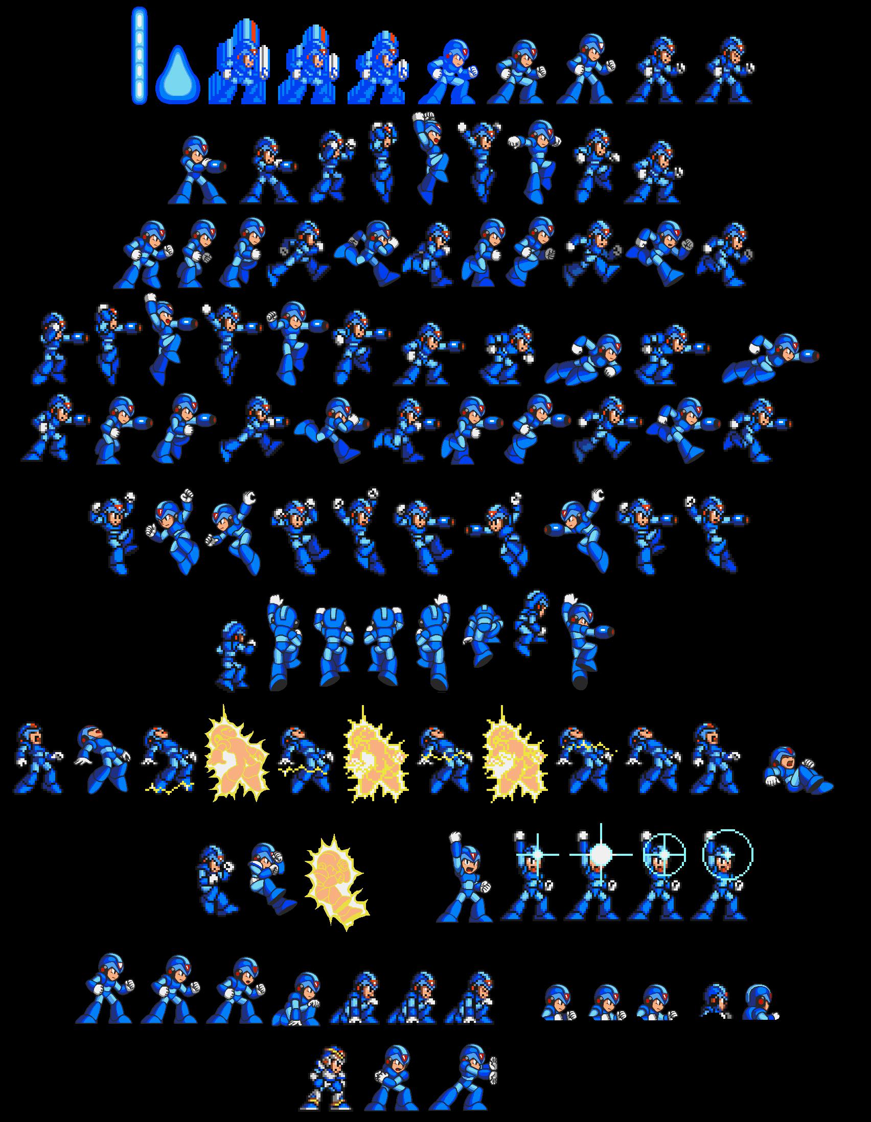 megaman x games list