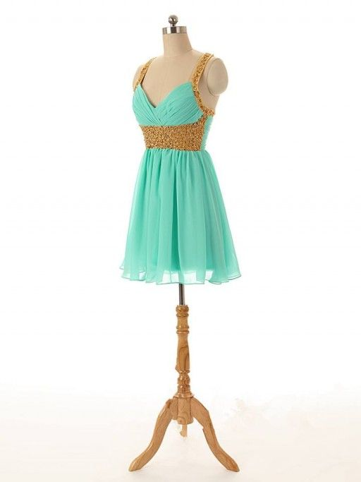 Mint Green Homecoming Dress,Short Prom Dresses,Homecoming Gowns ...