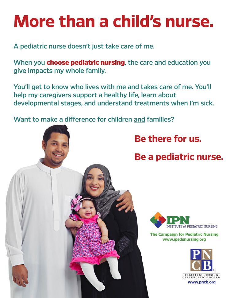Family-Centered Care Flyers: A pediatric nurse doesn\'t just take ...