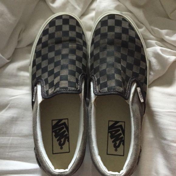 checkered vans | Vans, Vans classic