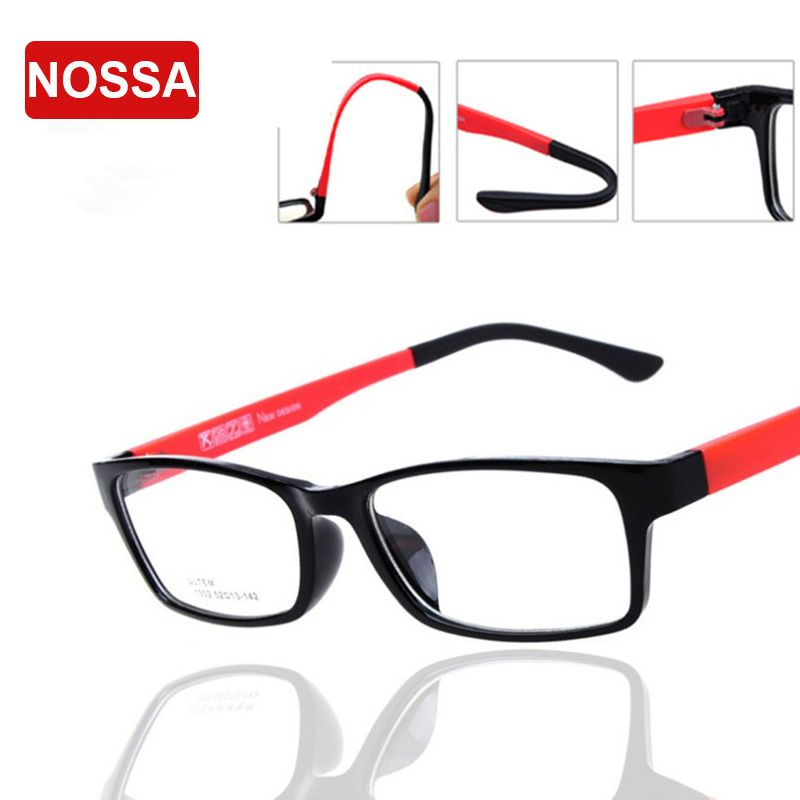 Click to Buy << TR90 Simulation Optical Glasses Frame Women Men ...