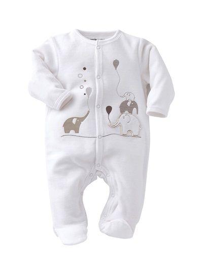 fairer Preis Luxusmode die beste Einstellung Baby Sleepsuit White | Vertbaudet | Baby/Kid Clothes | Baby ...