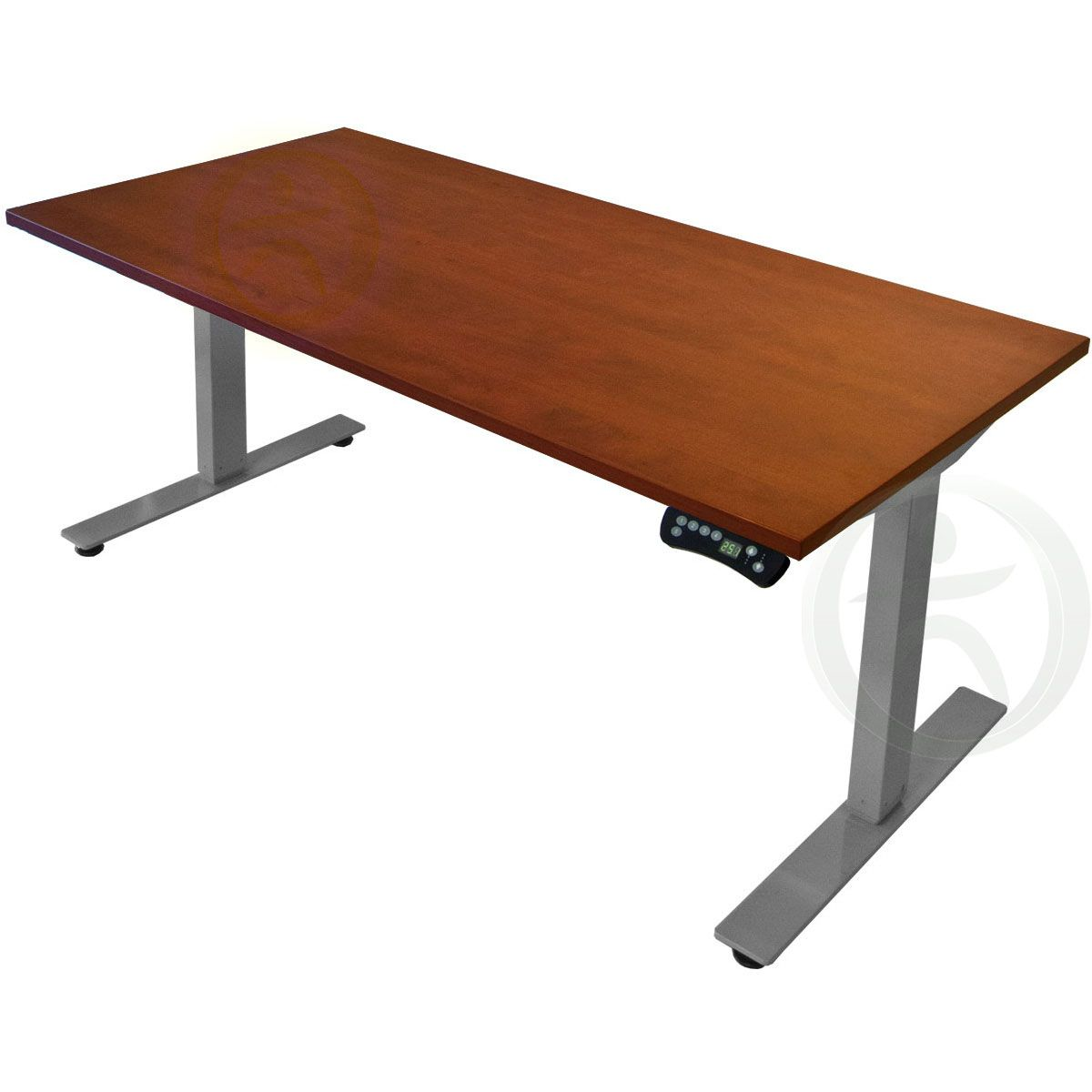 The Uplift 900 Electric Sit Stand Desk Silver Is A Sturdy Affordable Electric Adjustable Height Standing Sit Stand Desk Adjustable Height Desk Standing Desk