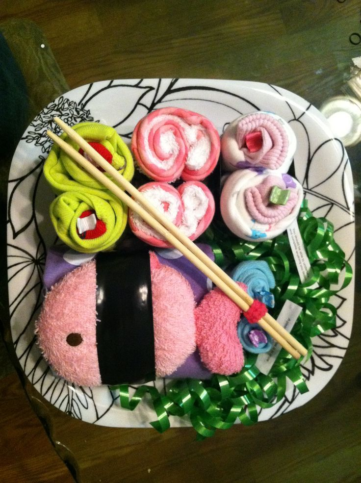 Sushi baby shower gift really cute idea do it yourself gifts baby sushi baby shower gift really cute idea do it yourself gifts baby shower sushi gift 736x985 solutioingenieria Images