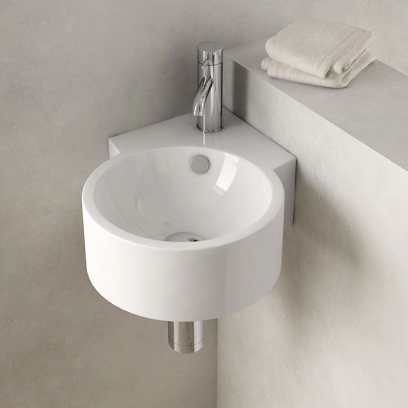 Lave Mains D Angle Suspendu 30x44 Cm Ceramique Pure Salledebain Bathroom Bathroomdesign Bathroomidea Lave Main Angle Lave Main Lave Main Toilette
