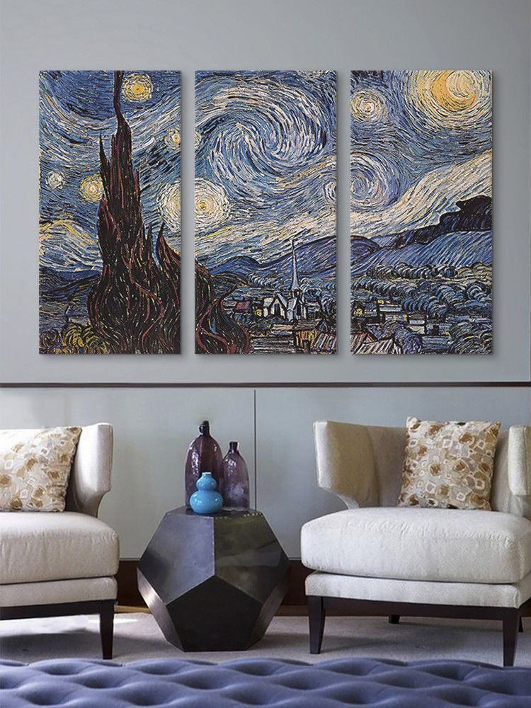 The Starry Night By Van Gogh More