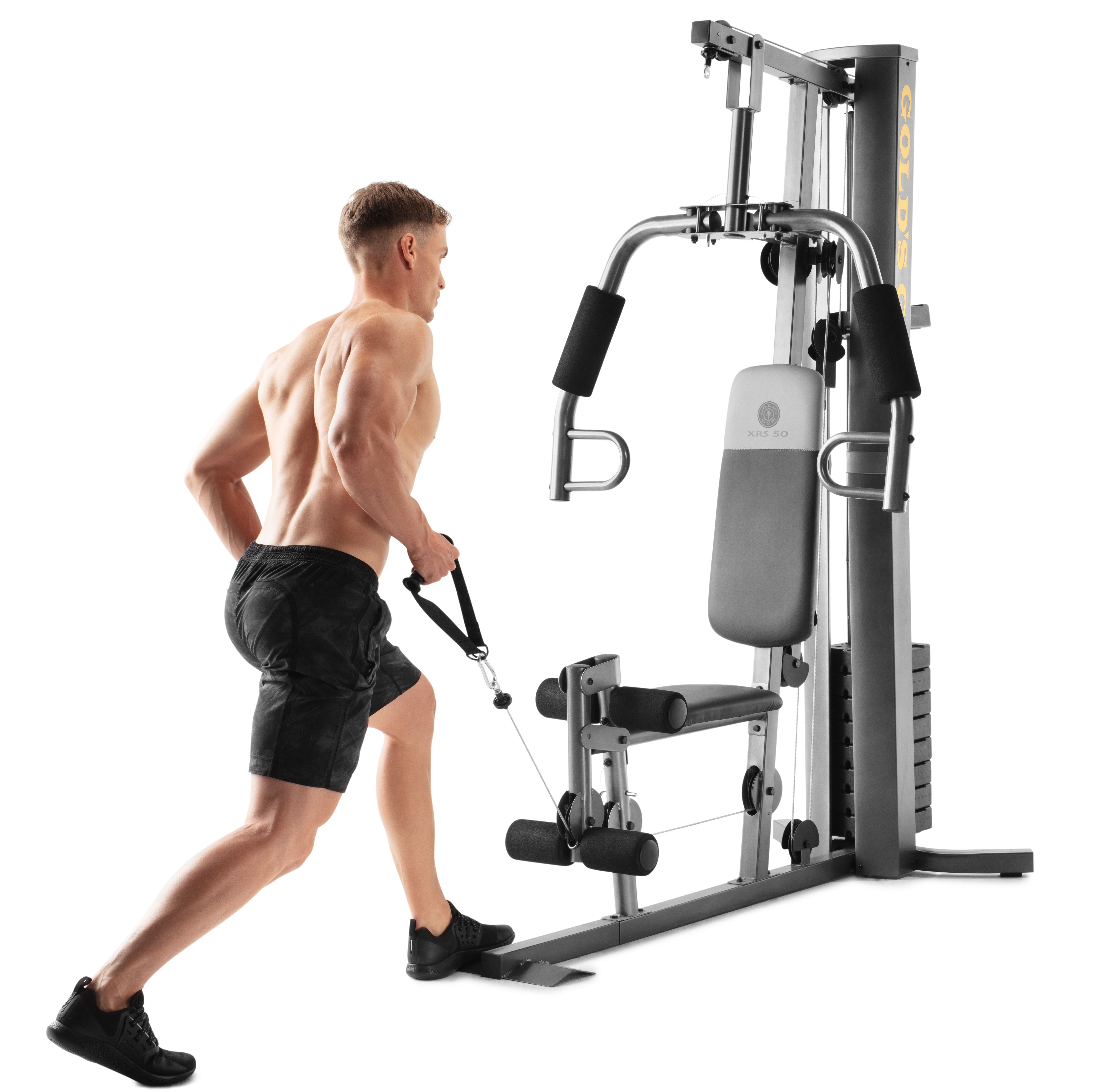 Weider Xrs 50 Home Gym With 112 Lb Vinyl Weight Stack Walmart Com Workout Machines Strength Training Workouts Home Strength Training