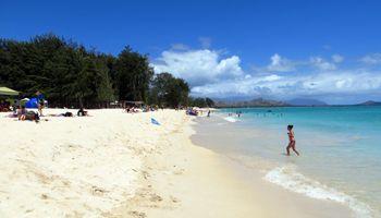 Kailua Beach Park East Shore Oahu Hawaii Vacation Fun