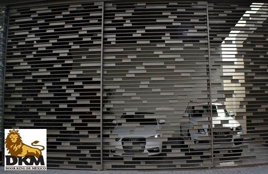 Rejas de aluminio modernas google search barda - Puertas para cocheras ...