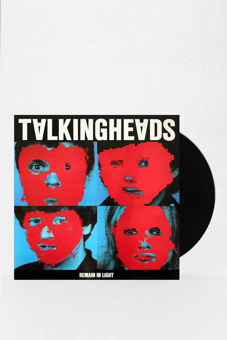 Talking Heads Remain In The Light Lp Photography
