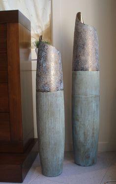 jarrones decorativos reciclados modernos buscar con google - Jarrones Decorativos