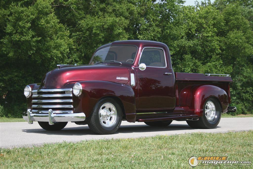 Pro Street Chevy Trucks Gauge Magazine Daddys 48