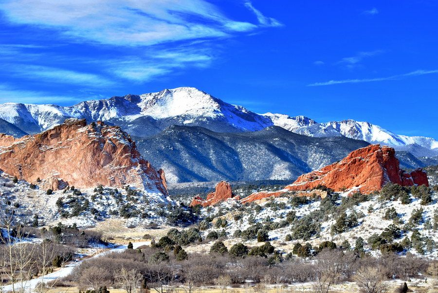 Winter At The Garden Of The Gods By Jawahunter003 On