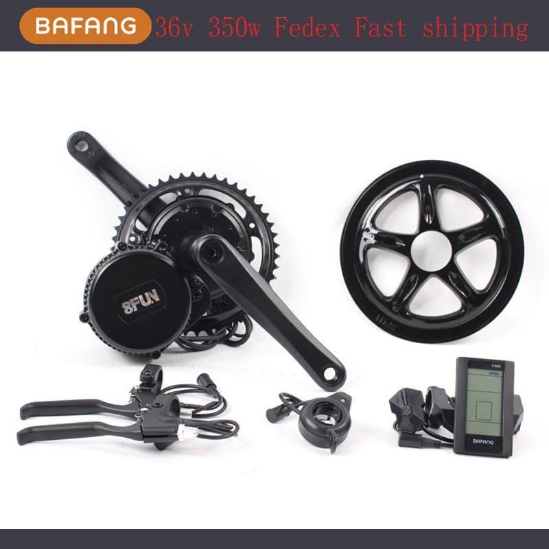 Cycling Electric Bike Drive Kit Bafang Mid Drive Mountain Bike Conversion Kit Bicycle Conversion Mid Motor BBS01B 350W 48V Mid Drive