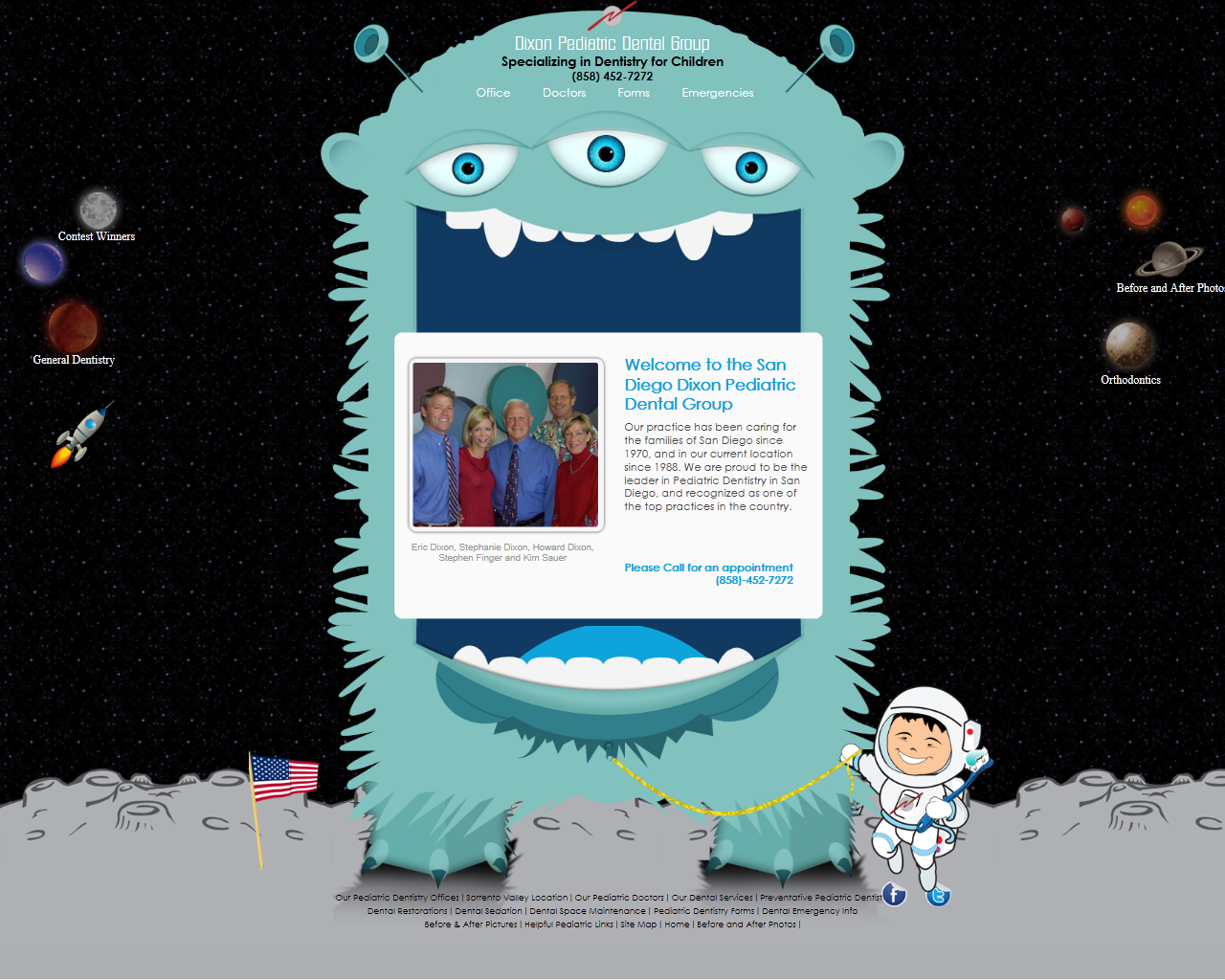 Oixon Pediatric Dental Group Website Design Company Web Graphic Design Pediatric Dental
