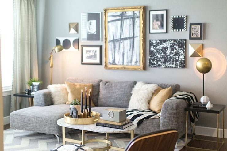 Modern White And Gold Living Room Ideas In 2020 Gold Living Room Decor Silver Living Room Gold Living Room