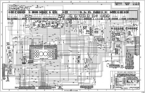2007 Freightliner M2 Wiring Diagram Peterbilt Freightliner Diagram