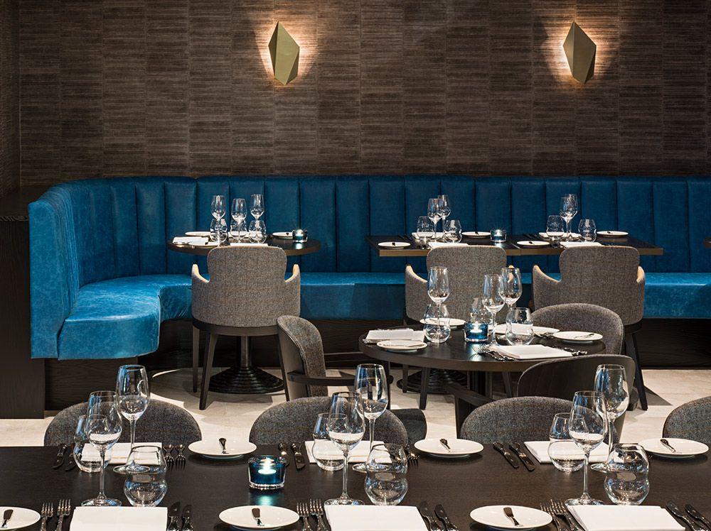Beautiful M Restaurant In London, Furniture Provided By Www.stylematters.co.uk