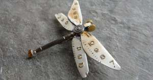 Insects Made From Watch Parts by Justin Gershenson-Gates