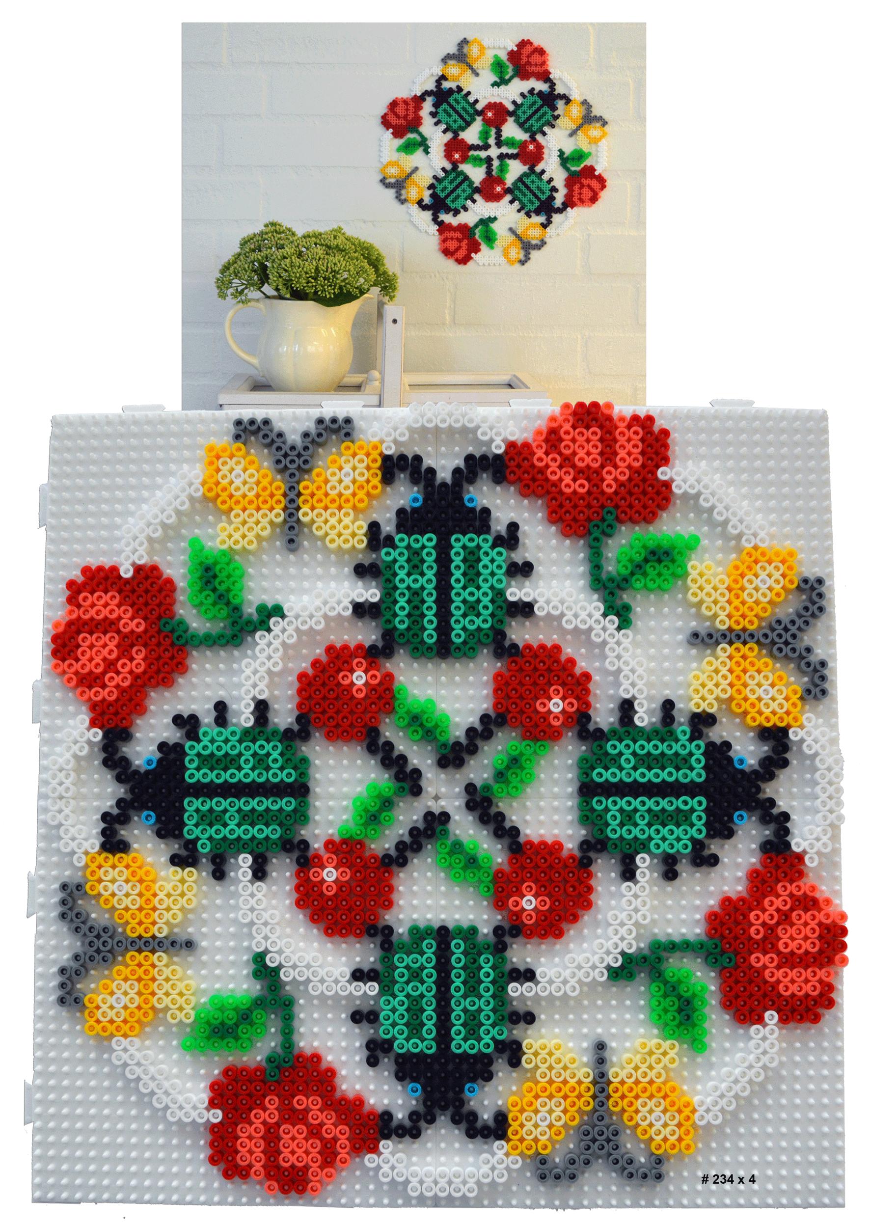 Summer-icon Hama Perler Beads - Hama.dk