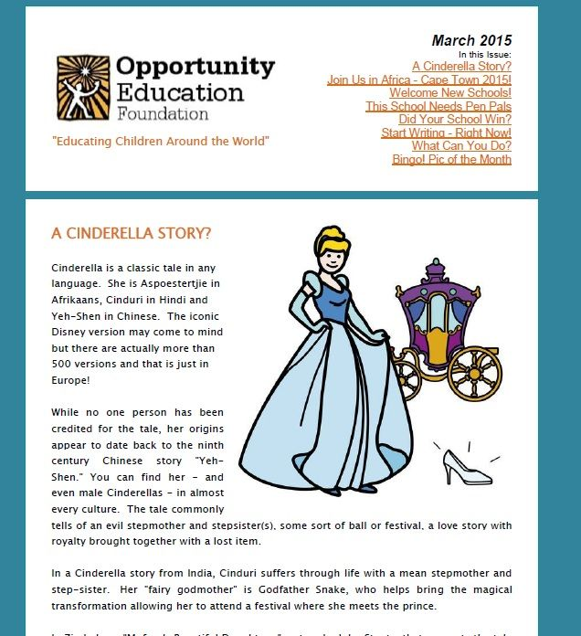 START YOUR WEEK OFF WRITE! A Cinderella Story – read more