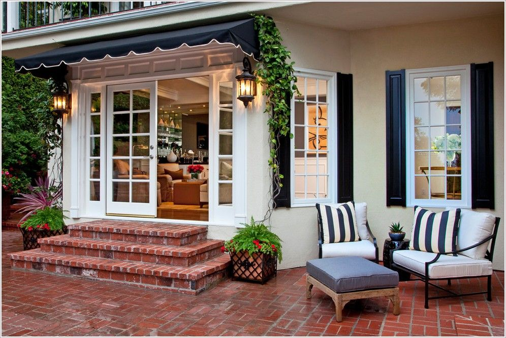 Outswing French Door On Brick House Images Thanks To Smith