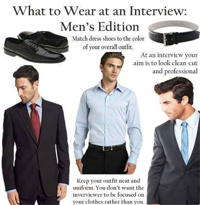 Color dress shirt to wear to interview