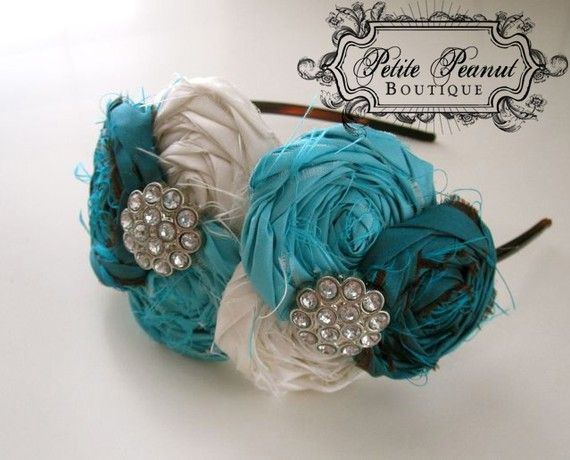 Diyfabricflowers Fabric Flower Headband Bow Tie It