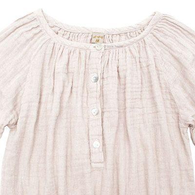 29b29fd8850c7 Commandez dès maintenant notre Chemise blouse Naia - rose poudre NUMERO 74.  Chemise blouse ou