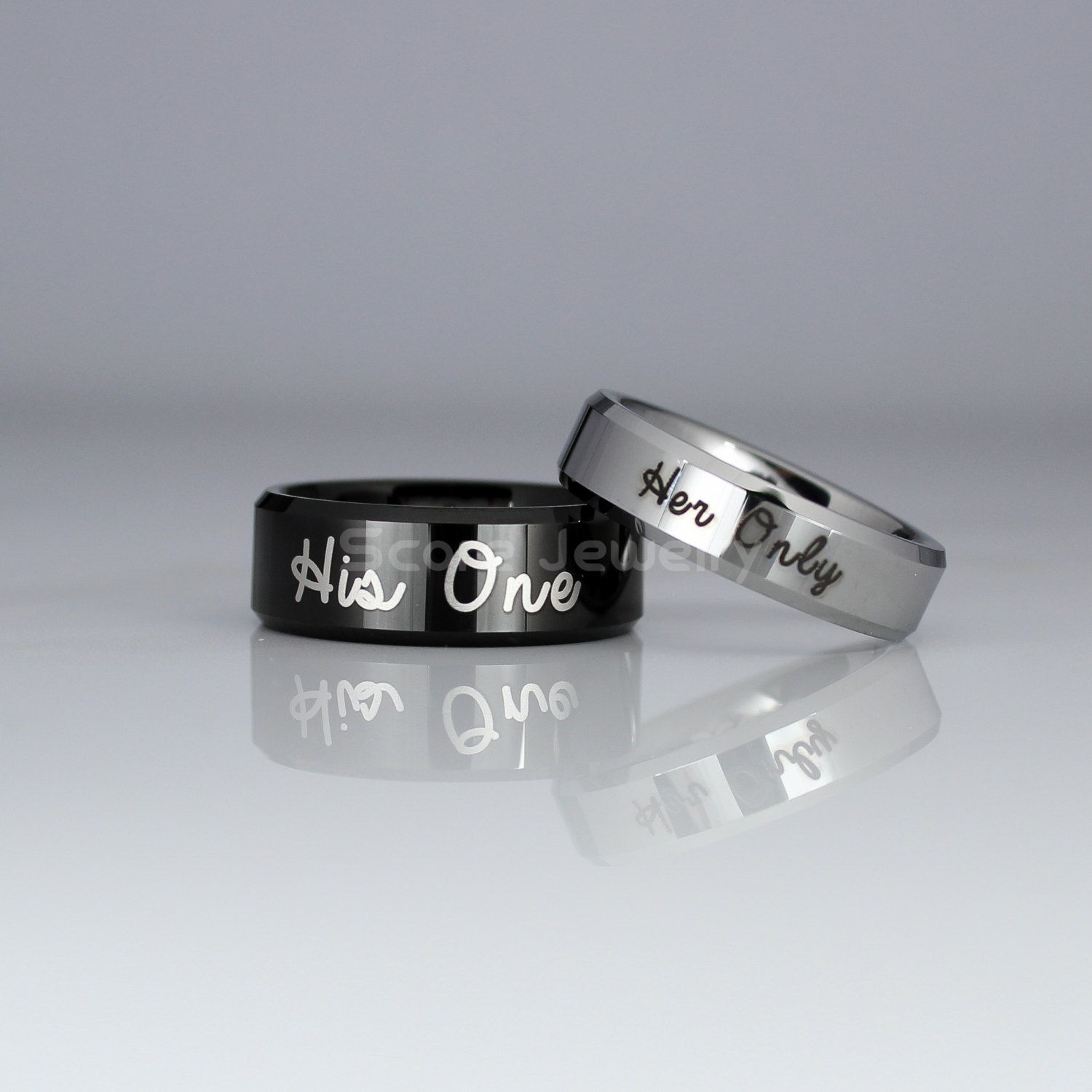 products il ring duck band personal bands damascus fullxfull steel wedding message