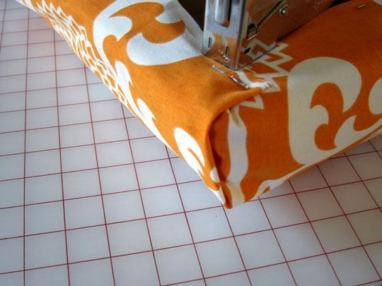 How To Make A No Sew Fabric Covered Cushion For A Piano Bench
