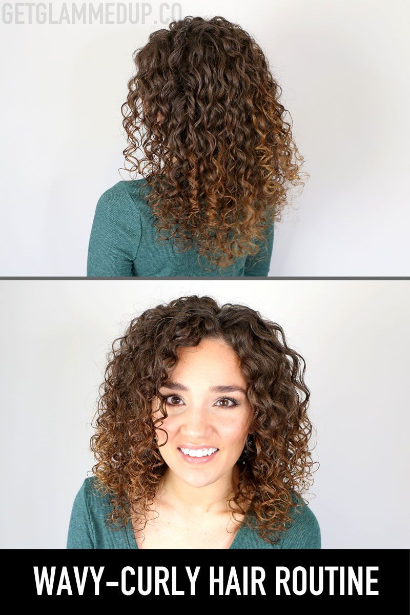 Wavy Curly Hair Routine For 2a 3a Curls How To Get Volume More