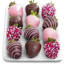 Heartfelt Chocolate Covered Strawberries (12 pc.)