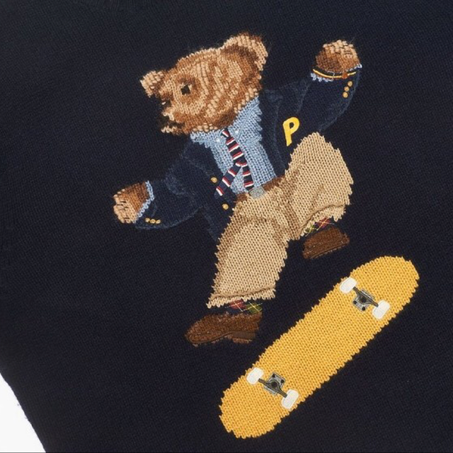 Palace Ralph Lauren Skate Polo Bear Sweater | DM cooler