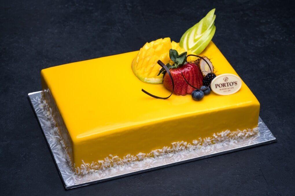 Cakes page 5 of 25 portos bakery mango mousse cake