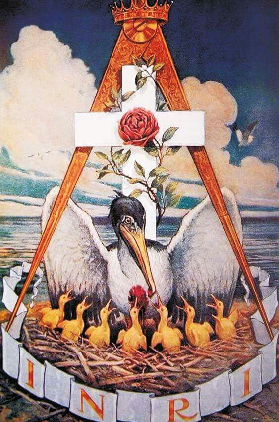 Rosicrucianism is a philosophical secret society said to have been founded  in late medieval Germany by Christian Rosenk… | Masonic art, Masonic  symbols, Freemasonry