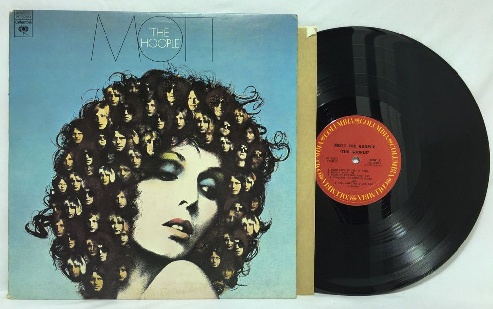 Mott The Hoople Early Usa Pressing 1a 1d Vinyl Record Album Lp Pc 32871 Vg Ex Record Vinyl Record Album Record Album Vinyl Records