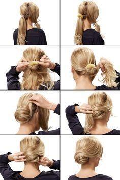 Einfache Frisur Hochzeitsgast Haare Hochsteckfrisuren Lange