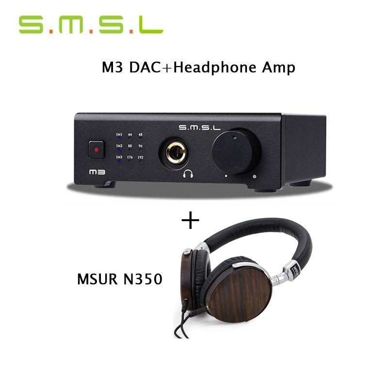 SMSL M3 DAC Headphone Amplifier AMP CS4398 USBOpticalCoaxial