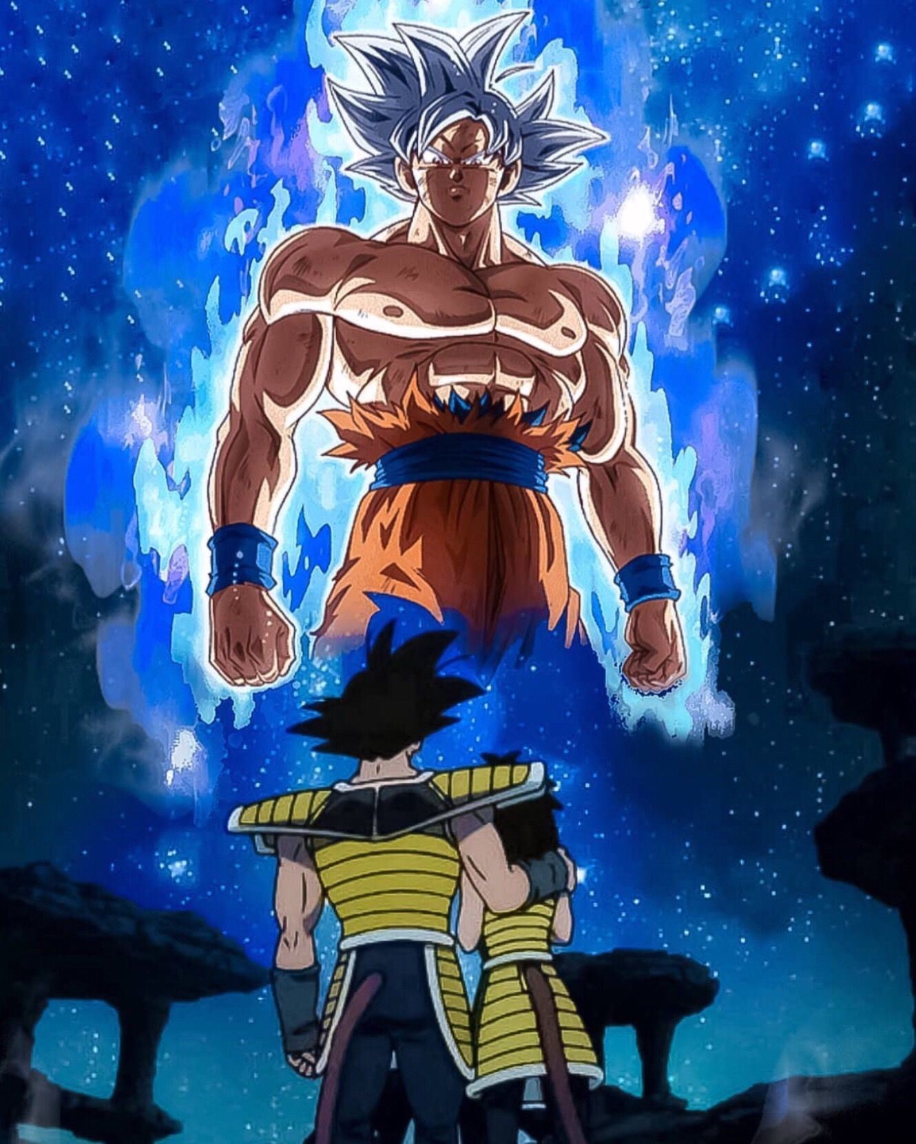Freetoedit Bardock Gine Goku Gokuultrainstinct Dragonballsuperbroly Comenten Si Les Gusto Dragon Ball Super Manga Dragon Ball Art Dragon Ball Super Goku